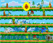 Math Online Dinosaur Games For Children