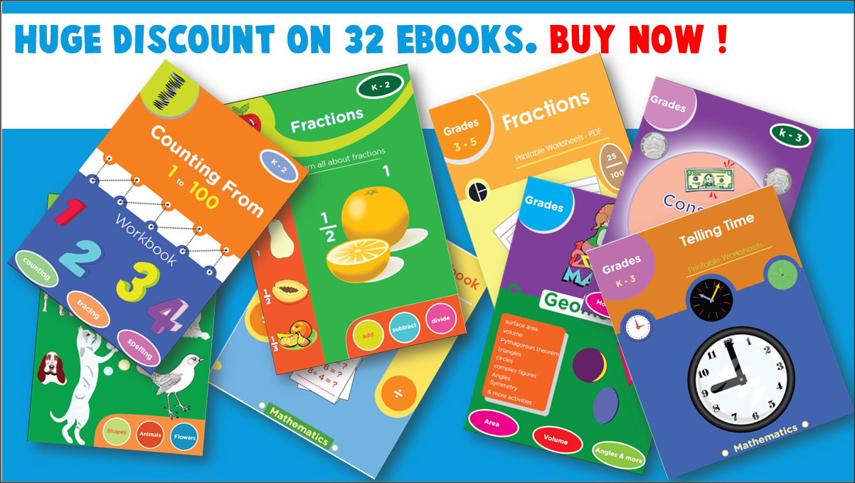 Addition 1st to 2nd grade ebook - Buy Now !!!