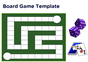 2nd grade math board games pdf printable for Game maker templates download