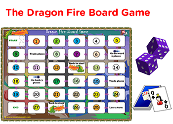 photograph relating to Printable Board Games Pdf named 1st quality math board game titles pdf downloads