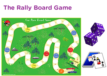 photo regarding Printable Board Games titled 1st quality math board game titles pdf downloads