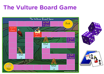 picture about Multiplication Game Printable named 3rd quality math board online games, pdf